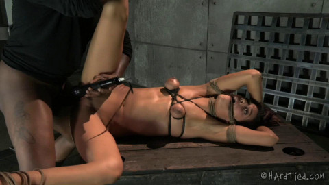 Lyla Suffers and Squirms Until She Earns A Rough Fuck
