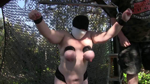 New Titslave Nat - First Outdoor Lesson - Part 2
