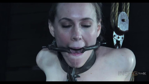 Hard tying, spanking and suffering for stripped slavegirl Full HD 1080p