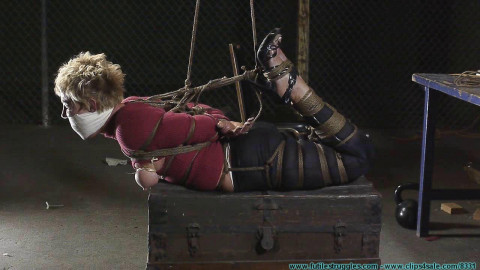 Alices First Ever Hogtie Part 4