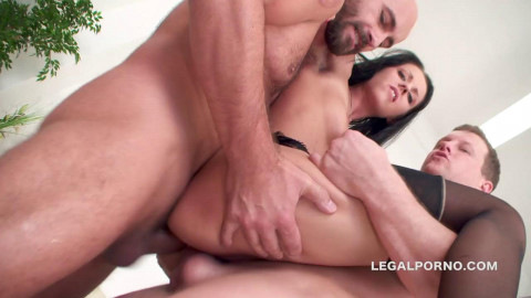 4on1 Intense Anal Orgy With First Serious Dap