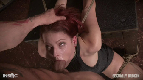 Kel Bowie is tied, made to squirt & cum, screech