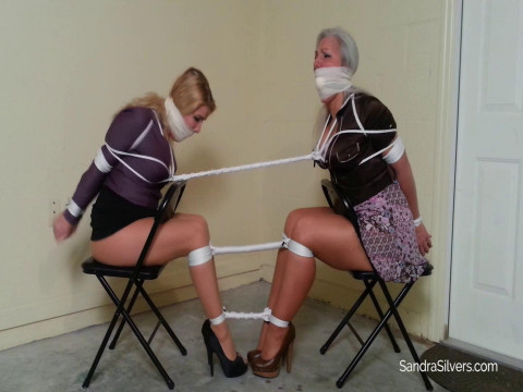 MOTHER ID LIKE TO FUCK Lawyer & Her Secretary Tightly Tied Together Get Vet Wrapped