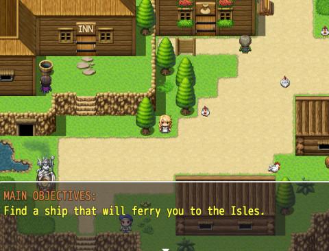 Claires Quest - Super RPG Game