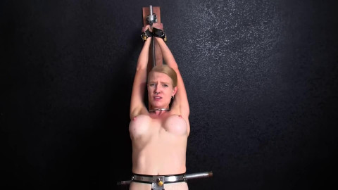Super bondage spanking and torture for beautiful blonde Full HD