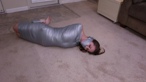Hellishly Hogtied Mummification Bundled