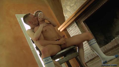 Chris Jansen & Ashton Bradley - Sock Sniffing Boys Cum Hard Together!