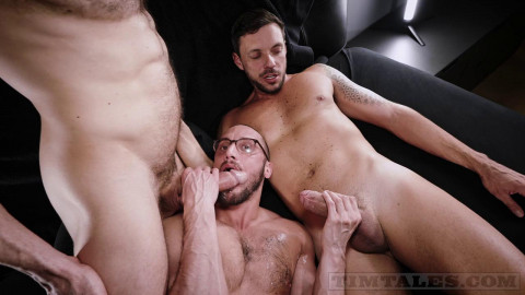 Saverios 1st DOUBLE PENETRATION with Gaucho and Mario Galeno