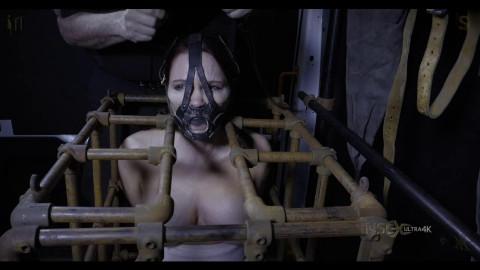 Hard tying, strappado and punishment for hawt floozy part 2