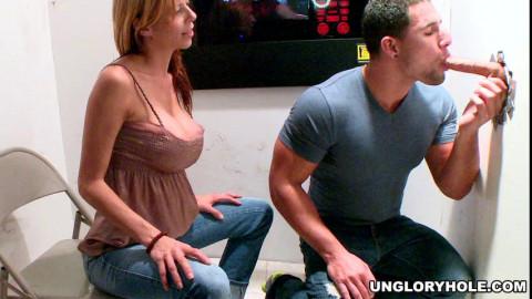 She Grab His Dick So Hard!!
