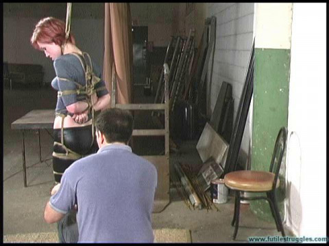 Amanda Maries First Time in Bondage - Part 1