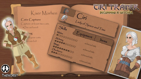 Ciri Trainer Chapter 4 Version 0.7.5
