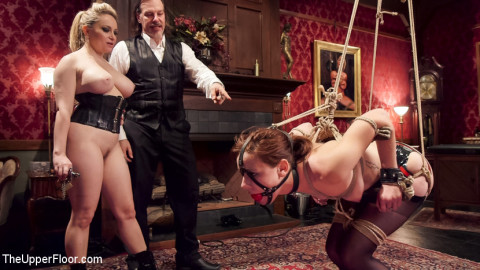 Latex Slave Girl Anally Debased By Dick Hungry Governess
