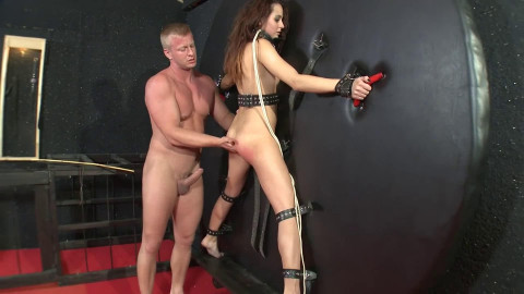 Hard tying, spanking and soreness for charming bitch part 2