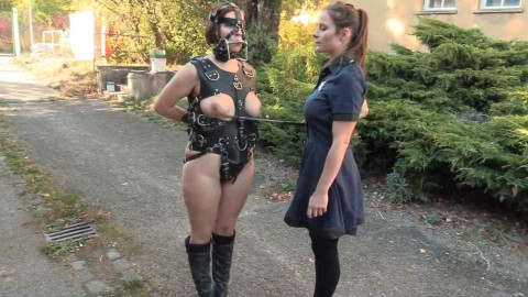 Tight tying, domination and toture for hawt hot slavegirl