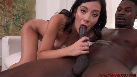 Natalie Brooks Goes For The Black Pipe HD