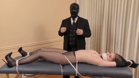 Bondage, strappado and punishment for very hot beauty part 1 Full HD 1080p