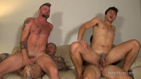 Damian Christian, Axel Kane And Jason