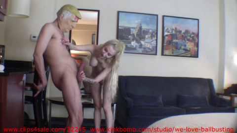 Gorgeous Blonde Russian Agent Punishes - HD 720p