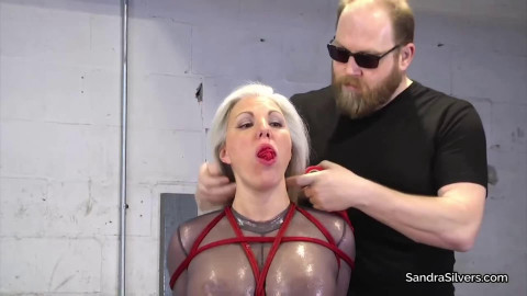 Bondage, predicament and punishment for lustful slavegirl