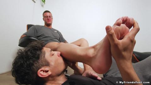 Clarks Feet Worshiped