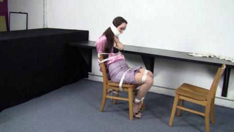 Rachel Lane - Chair bound during her interview