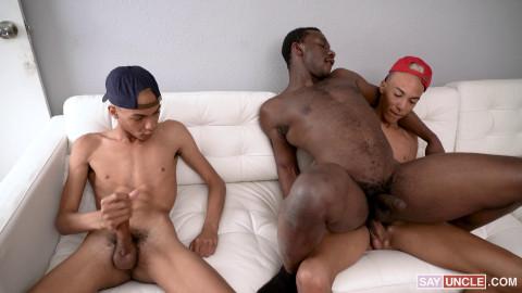 Hot Threesome Dante, Diego & Parker Payne 2160p