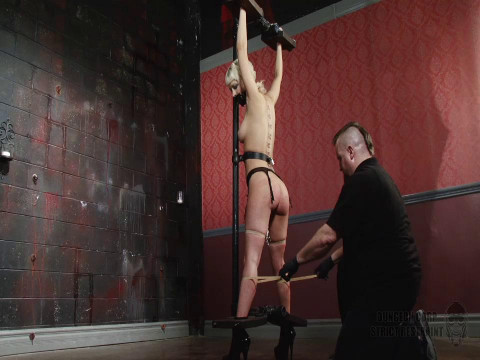 Brutal Whipping # 1 (Cherry Torn) StrictRestraint