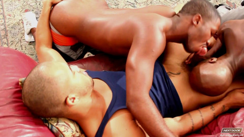 NextDoor Ebony - Triple Threat - Race Cooper, Kiern Duecan (Jason Vario), JP Richards