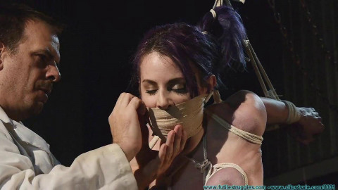 A Long Day of Hard Bondage for Rachel - Dr. Straps Disciplined 3part - BDSM