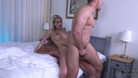 DanniXXX - Hot Threesome with Tomas Friedl (aka Thom, Thomas Ride) and Danni Daniels