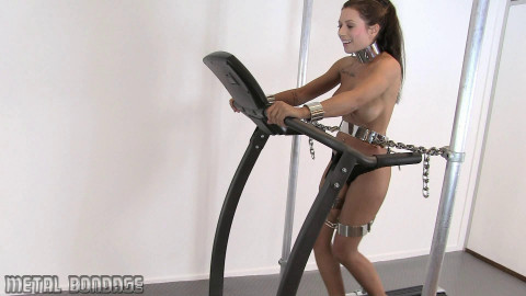 Cory – Treadmill and intense haunch bands