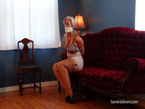 Sandra Silvers Model Call Hi-jinx Vintage Vixens Girdle Bound Gagged Part 1 (2017)
