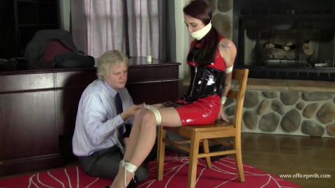 Nichole Skye - Chair Tied For Mr Big Boss