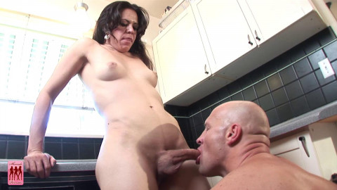 Patricia Gets Fucked In The Kitchen!