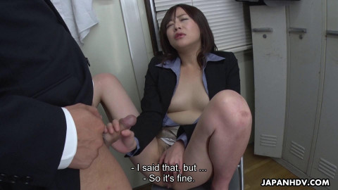 Asuka Kyono Blows Her Colleague In The Office FulHD 1080p