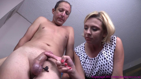 Wife Prepares To Castrate Husband