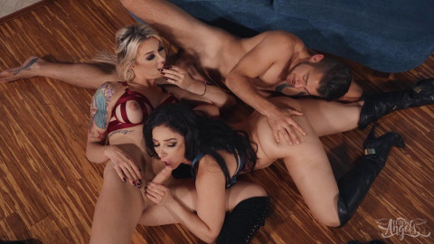 Aubrey Kate and Sheena Ryder in - After The Night Out  1080p