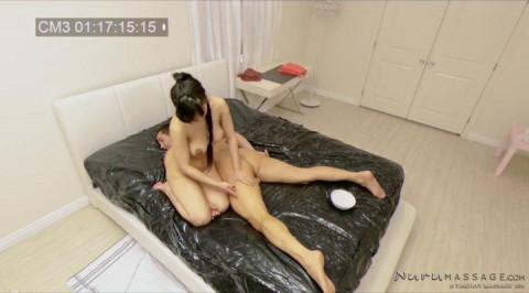 Jade Kush - Spycam Nuru Massage