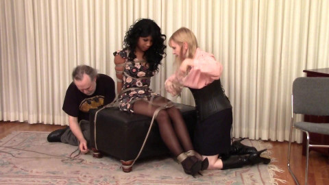 Bdsm Most Popular Cupcake Sinclair is Grabbed and Gagged and Roped