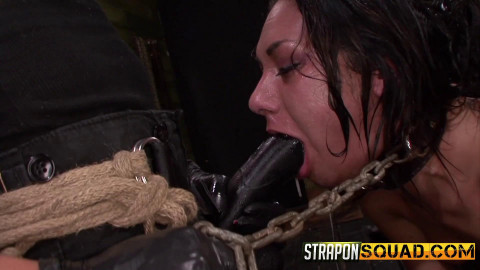 StraponSquad - Jul 10, 2015 - Isa Mendez Earns Another Lesbian Domination 3some
