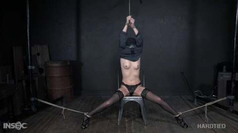 Amazing restraint bondage floozy has emerged