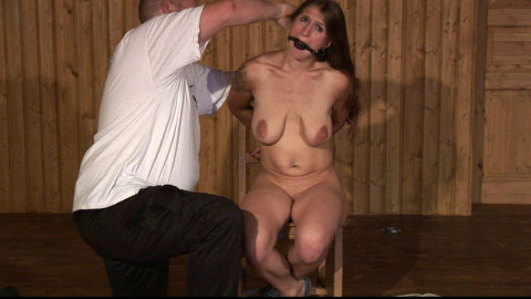 Cruel Breast Predicament for Katharina