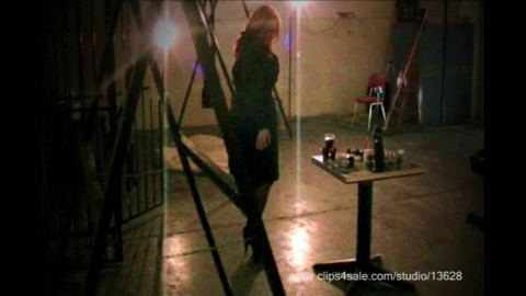 SlaveM  / clip4sale - Torment of beauty in the darkness of the dark basement