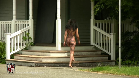 Callisto Naked and Whipped into action Sep1 2014