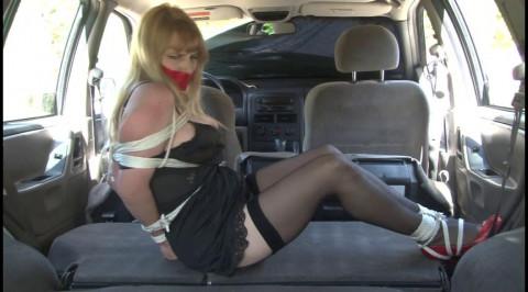 Bdsm Most Popular Car Captive Lorelei Tied Up in her Slip
