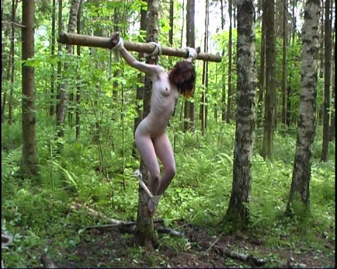 Lena and Sasha and the slave in the forest (Cr D2005)