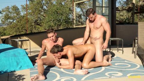 Hot 3some Phenix Saint, Alexander Gustavo & Max Penn (1080p)