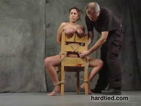 Lavender Rayne has never been tied up for sex, but shes hot to give bondage a try