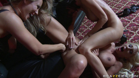 Hot Girl In The Strip Club With Her Coworker